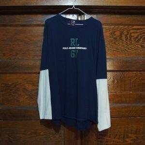 Ralph Lauren Polo Jeans Long Sleeve Tee XL